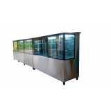 expositor refrigerado vertical valor Barra Funda
