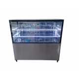 expositor refrigerado vertical Brooklin